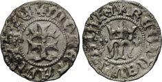 AR Denar o.J. (1383), Ungarn, Maria, 1382-1387, ss