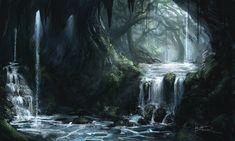 Cavern by Ninjatic.deviantart.com on @deviantART