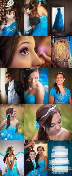 Quinceanera Portrait Photography Model Pose for Bana