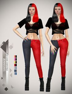 Sims 4 CC's - The Best: Jeans by JenniSims