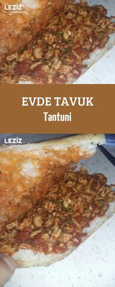 Evde Tavuk Tantuni in 2020