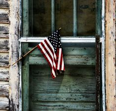 Patriotic. Remembering to have graditude for the door to my freedom today!