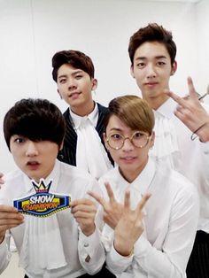 Yano,Hojoon,Gohn and Nakta ♥