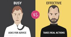 13differences between busy and effective people