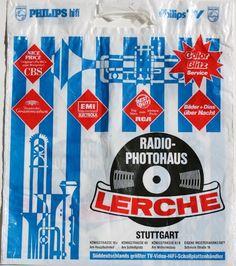 Lerche - Stuttgart - 5-Apr-1986 Lps, Radios, Vinyl Store, Letters, Colours, Shop, Punk, Stuttgart, Vinyl Records