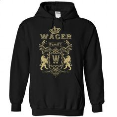 (Family001) WAGER - #shirt outfit #mom shirt. GET YOURS => https://www.sunfrog.com/Names/Family001-WAGER-tfxcafyvbv-Black-45390172-Hoodie.html?68278