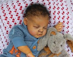 CUSTOM ORDER Reborn Doll Baby Boy or Girl Ethnic Black AA Noah By Katie Messou | eBay