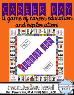 Career Day: A Board Game of Career Education and Exploration! (scheduled via http://www.tailwindapp.com?utm_source=pinterest&utm_medium=twpin&utm_content=post77279044&utm_campaign=scheduler_attribution)