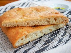 With a wonderful flavor, plenty of crisp edges, and a soft crumb inside, this lemon thyme focaccia is such a delicious, versatile homemade bread! Empanadas Argentinas Recipe, Cooking Ingredients, Instant Yeast, Bread Rolls, Bread Recipes, Food Print, Brunch, Lemon, Snacks