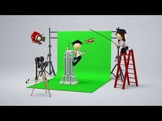 Hollywood's History of Faking It | The Evolution of Greenscreen Compositing - YouTube