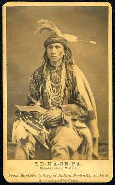 Tenazepa aka The Singer was a Dakota Sioux warrior.