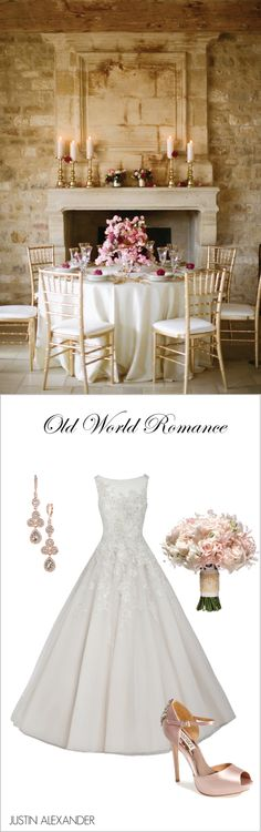 Wedding Day Look: Old-World Romance, Brought to you by @jabridal