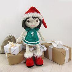 Ravelry: Christmas Elf - Girl pattern by Kristi Tullus  €5.50 EUR