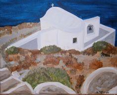 Greek Islands, Greece Travel, Paradise, Places, Painting, Greek Isles, Painting Art, Greece Vacation, Paintings