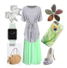 Her Covering by her-covering on Polyvore featuring polyvore, fashion, style, Chicwish, Casetify, Fuzzy Nation and clothing