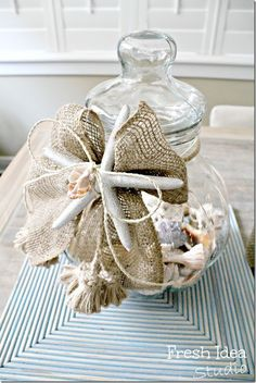 Setting for Four: 10 + Coastal Cottage Home Decor Ideas // Project Inspire{d} Linky Party and Features!