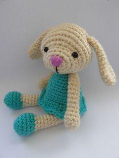 Mesmerizing Crochet an Amigurumi Rabbit Ideas. Lovely Crochet an Amigurumi Rabbit Ideas. Crochet Toys Patterns, Stuffed Toys Patterns, Crochet Designs, Crochet Dolls, Knitting Patterns, Crochet Angels, Crochet Gifts, Cute Crochet, Easter Crochet