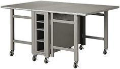 Martha Stewart Living™ Craft Space Collapsible Craft Table - Martha Stewart Living --perfect for small spaces!!