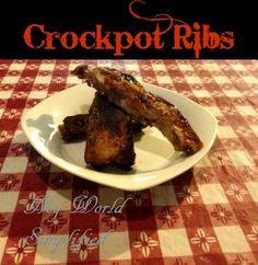 Crockpot Ribs