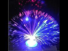 Fibre Optic Plant / UFO Flower Vase Similar to Lava Lamp Techy Desk Show...