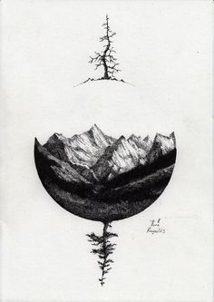 1000+ ideas about Mountain Tattoos on Pinterest | Negative Space ...