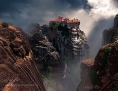 The mystery of Meteora by GeorgeVisio