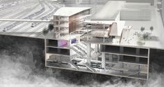Gallery of Kengo Kuma Wins Competition to Design Metro Station in Paris - 4
