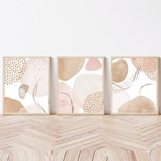 3 Piece Wall Art, Wall Art Sets, Wall Art Prints, Decor Home Living Room, Watercolor Art Lessons, Christmas Canvas, Contemporary Artwork, Modern Prints, Abstract Wall Art