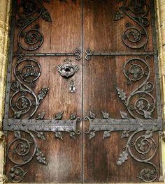 Winslow decorative door hinges