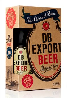 Why have one when you can have two? db export - twin bottle packaging