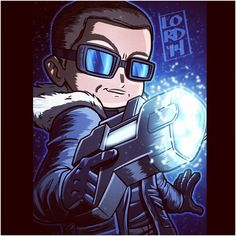 Captain Cold!! fanart by lordmesa-art