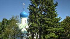 Cimetière russe de Sainte-Geneviève-des-Bois - Église orthodoxe Notre Dame de l'Assomption