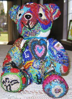 Lola - my first mosaic animal