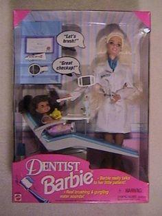 Dentist Barbie childhood-memories