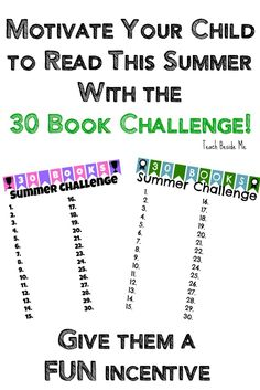 Summer Reading Challenge {With Free Printable}