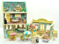 Sylvanian Families Applewood Cottage, Department Store Cafe. ***Trendsetter in Sylvanian interior/exterior design * **
