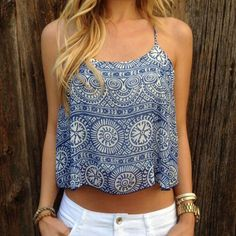 Spring outfits, summer summer crop top outfits, cute outfits for summ Beauty And Fashion, Look Fashion, Passion For Fashion, Fashion Outfits, Womens Fashion, Fashion 2018, Teen Outfits, Trendy Fashion, Hippie Fashion