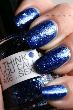 Nerd Lacquer I Think You Call Me... Sexy #indie #nailpolish #manicure #doctorwho #beauty