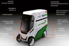 Carro elétrico é perfeito para vendedores ambulantes | CASA.COM.BR Bike Aro 20, Wooden Toys, Baby Strollers, Children, Side Door, Electric Motor, Cord Automobile, Strollers, Gardening