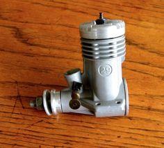 The last Glow Chief 29 made by Gordon Burford vintage model aeroplane engine