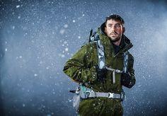 Mountaineering photo shoot at 514 studios in Minneapolis, Minnesota   www.micahkvidt.com