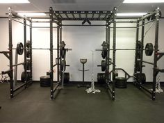 Elitefts Workout Rooms, Workout Gear, Gym Workouts, Crossfit Gear, Gym Interior, Home Gym Design, Gym Room, Workout Posters, Power Rack