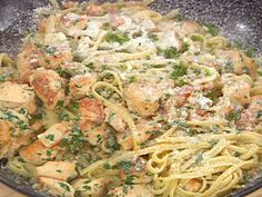 Bayou Chicken Pasta recipe from Emeril Lagasse via Food Network