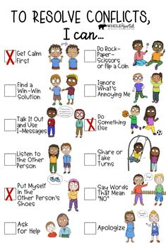 This Conflict Resolution Bundle is jam packed with tools, like community-building lessons, posters, for… Middle School Counselor, School Counseling, Elementary Counseling, Teaching Social Skills, Social Emotional Learning, Conflict Resolution Activities, School Social Work, Counseling Activities, Character Education