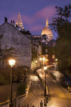 Paris, Montmartre. Want to see this again, and for some reason this is exactly…