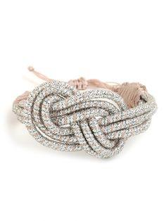 cute silver bracelet. looking for gift ideas. :)