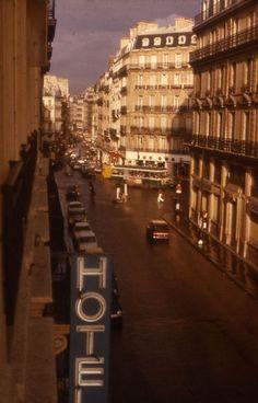 Rue du Four - 1976 (photo: Evert Pronk).  My old street in Paris - I miss it so much!