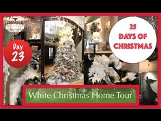 Christmas Decorating Ideas and Home Tour 2015 | 23rd Day of Christmas! - YouTube (Robeson Design)