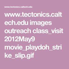www.tectonics.caltech.edu images outreach class_visit 2012May9 movie_playdoh_strike_slip.gif