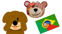 Riddle for Kids to Learn the Animals in Portuguese - Guess who is hiding